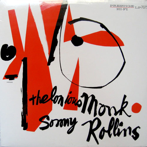 Thelonious Monk and Sonny Rollins/富山のジャズ喫茶『cafe jazzる』ランチメニュー充実